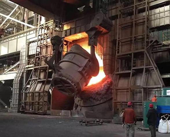 钢厂施工现场